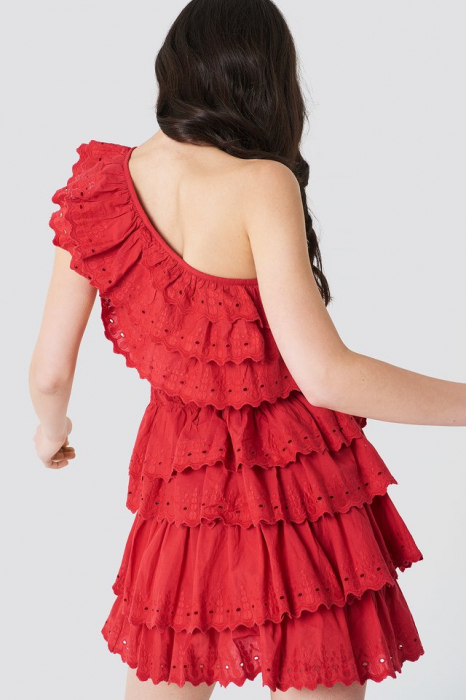 Rochie All Over Flounce 1