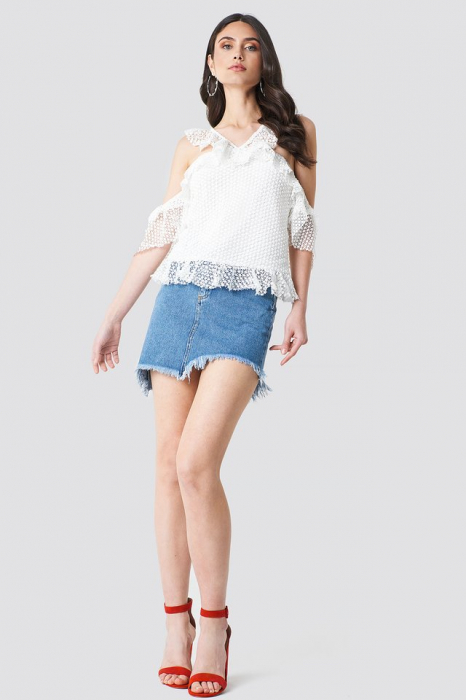 Double Frill Sleeve Top 2