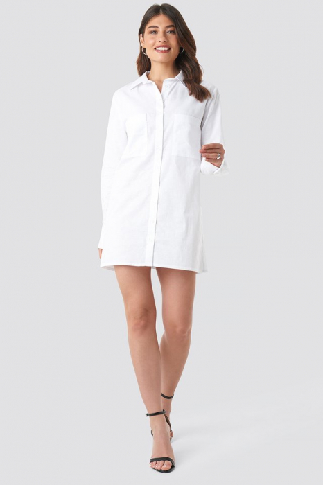 Rochie Oversized Shirt Dress 0