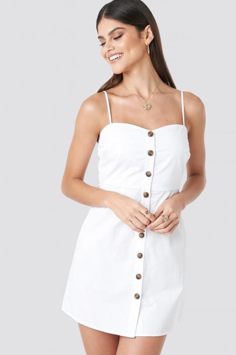 Rochie Strap Mini Cotton 0