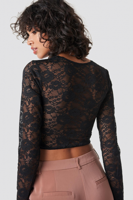 Bluza Cup Detail Lace 1