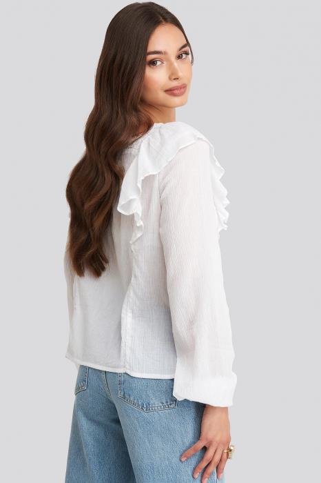 Bluza Square Neckline Lace 1
