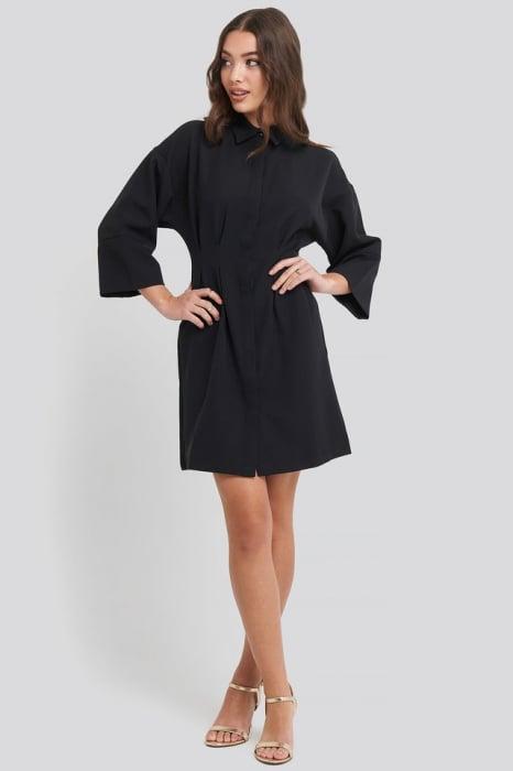 Rochie A-Line Shirt Dress 0