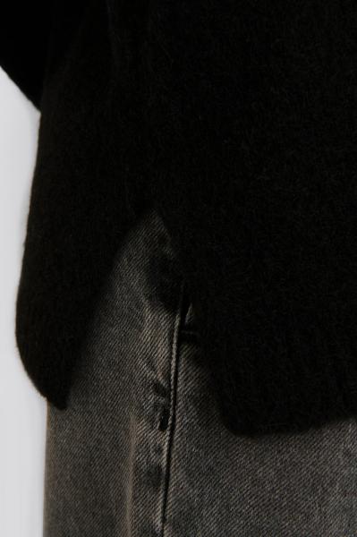 Pulover Alpaca Knitted V-Neck [2]