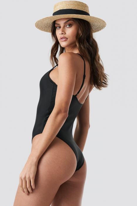 Basic Front Ruched Swimsuit 1