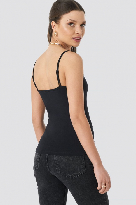 Basic Round Neck Fitted Singlet [3]