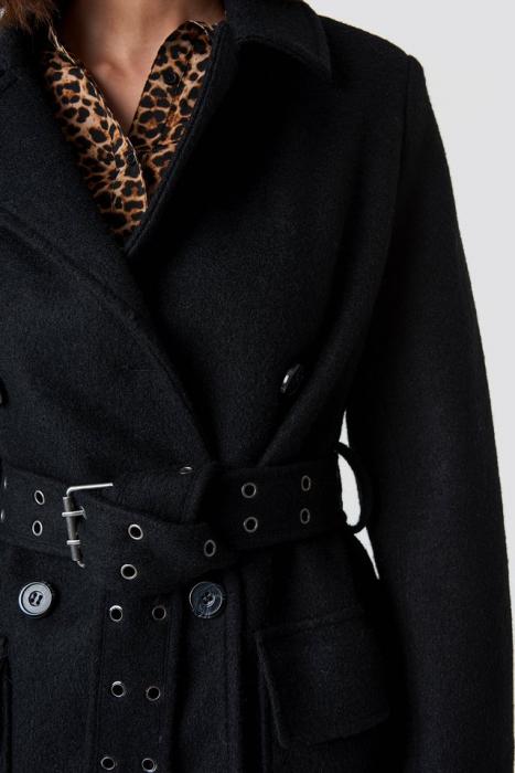 Palton Belted Coat [3]