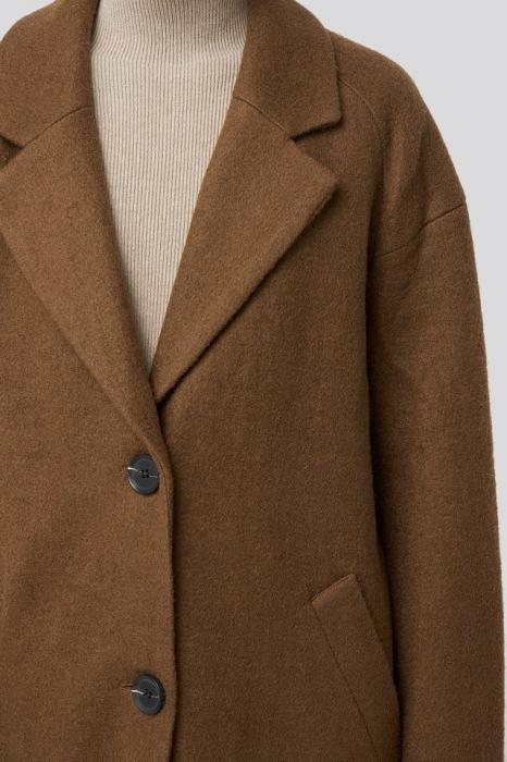 Palton Big Button Long [4]