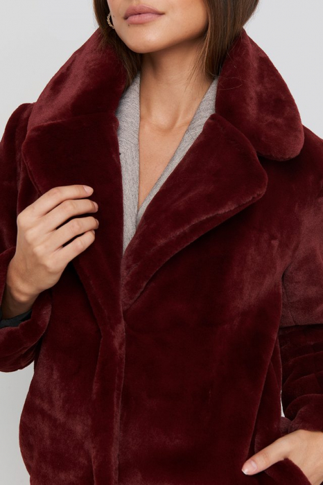 Haina Big Collar Faux Fur [5]