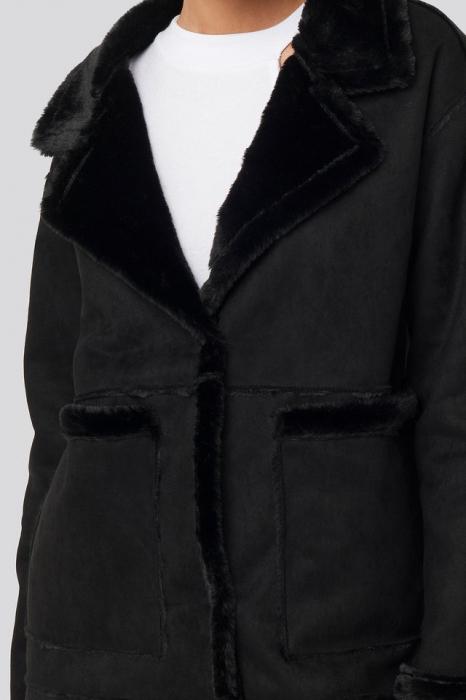 Big Pocket Faux Suede Jacket 3