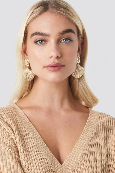 Big Shell Earrings 1