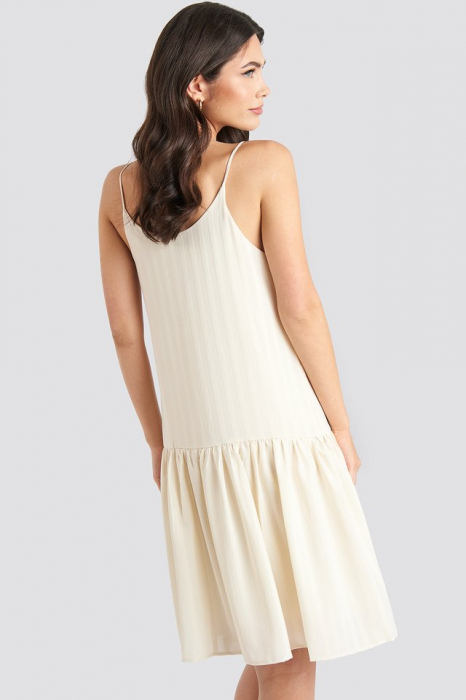 Rochie Bottom Flounce Striped 1