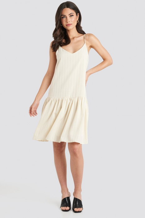 Rochie Bottom Flounce Striped 2