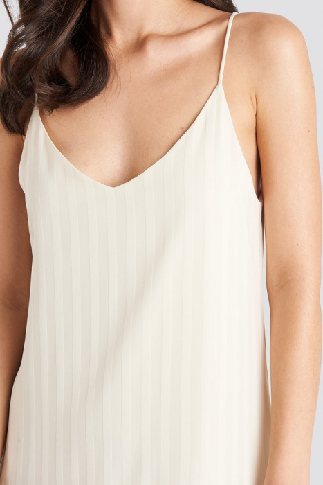 Rochie Bottom Flounce Striped 3