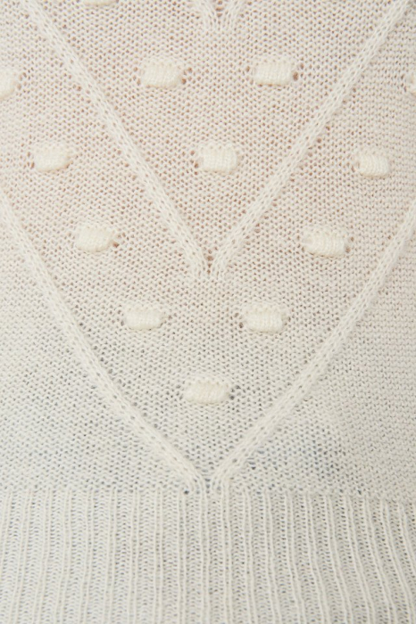 Pulover Bubble Detail Knitted [2]
