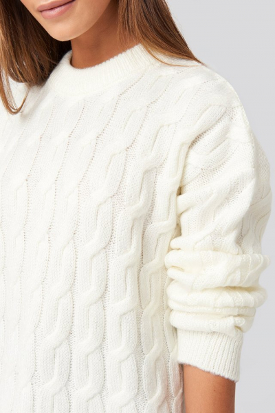 Pulover Cable Knitted Oversized [3]