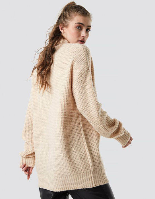 Pulover Chunky Oversized Polo 1