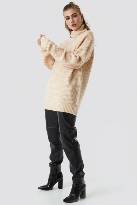 Pulover Chunky Oversized Polo 2