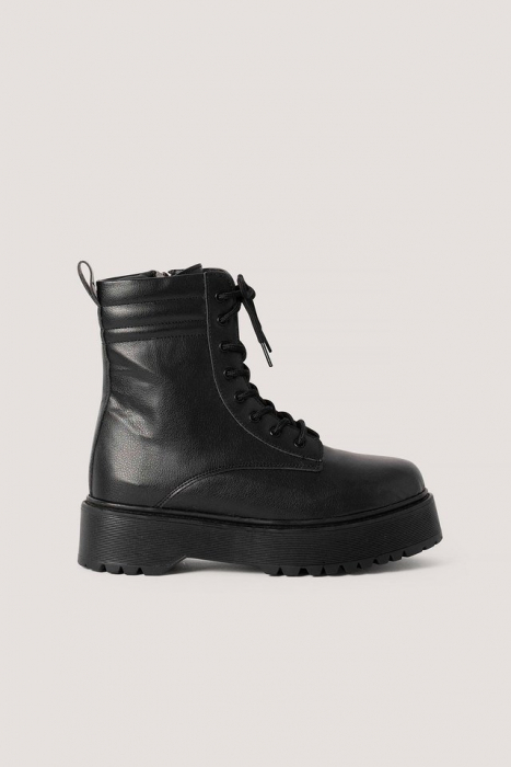 Ghete Chunky Rubber Sole Boots [0]