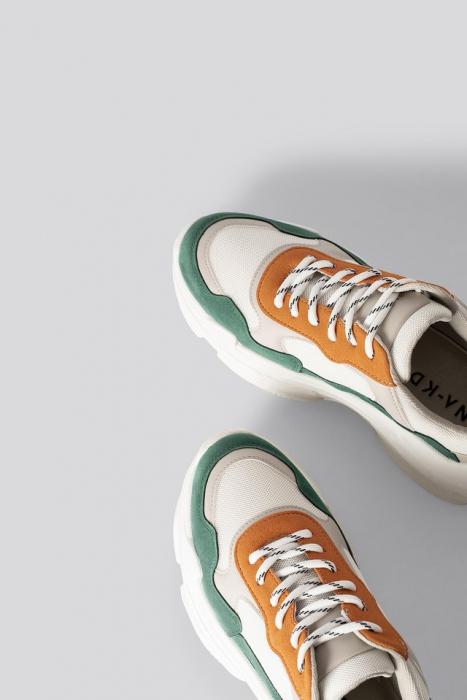 Sneakers Color Block Trainers [3]
