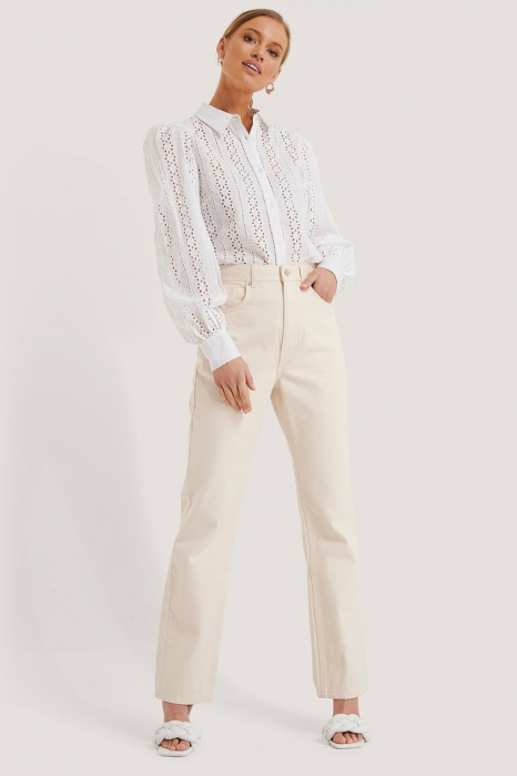 Camasa Crochet Long Sleeve Shirt [2]