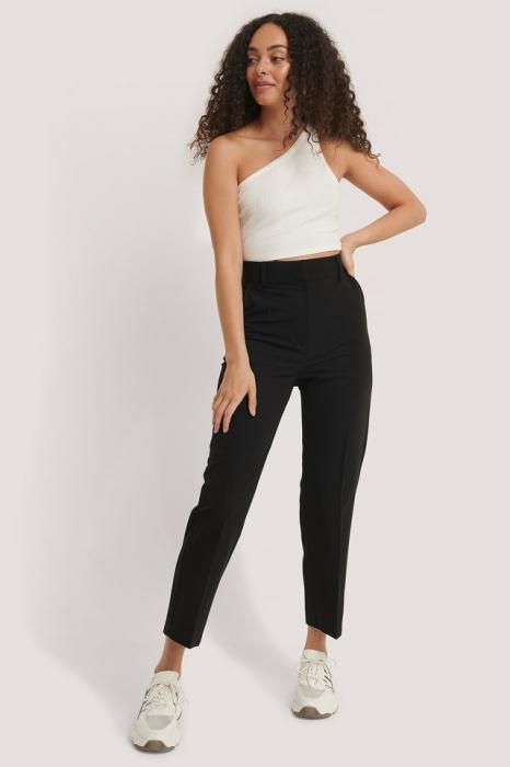 Pantaloni Cropped High Rise Suit 0