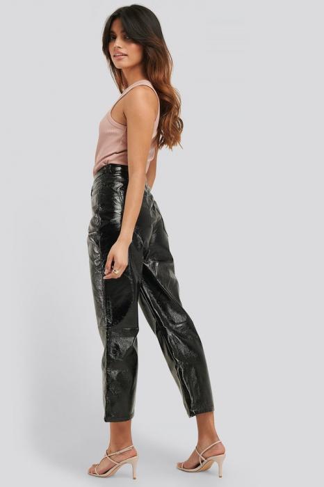 Pantaloni Cropped Patent [1]