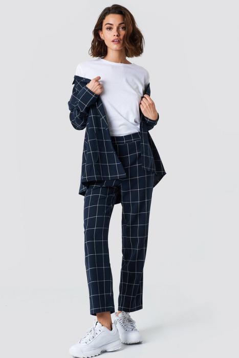 Pantaloni  Suit Cropped Straight 0