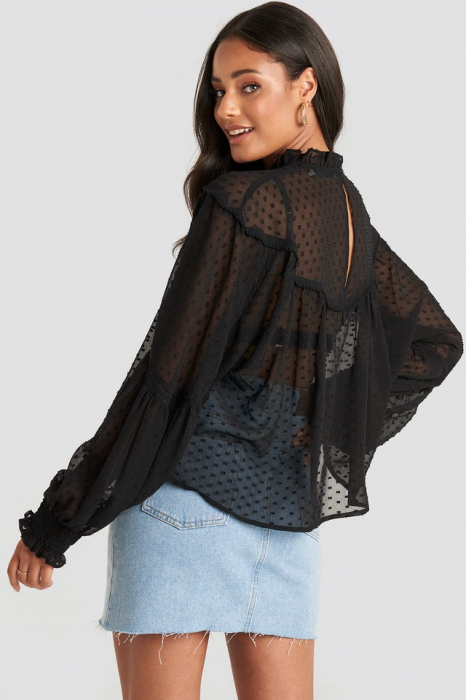 Bluza Dobby Lace Detail [3]