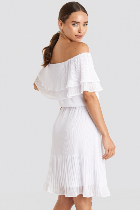 Rochie Double Tier Off Shoulder 1