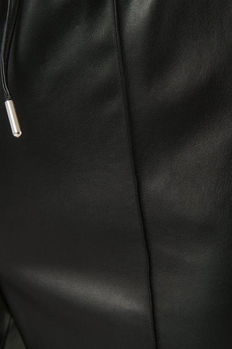 Pantaloni Drawstring PU Seam Detail 4
