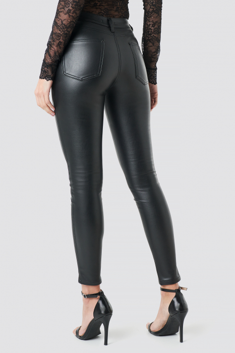Pantaloni Faux Leather 0