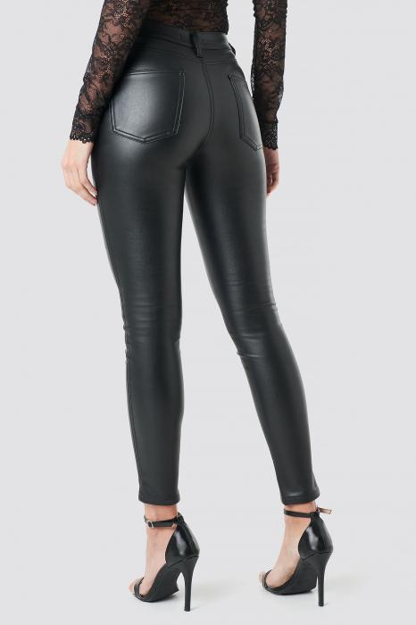 Pantaloni Faux Leather [0]