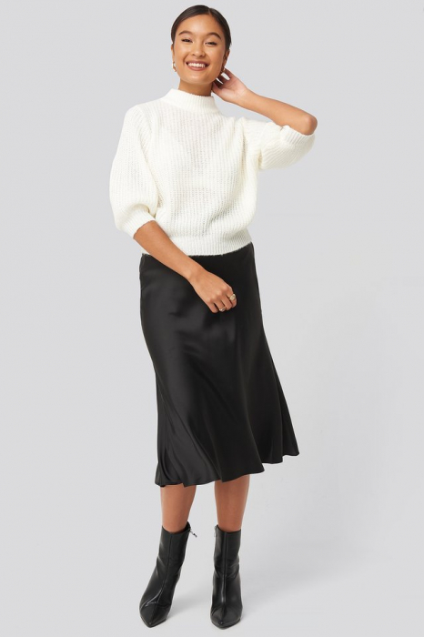 Pulover Felicia Wedin Mid Sleeve Knitted 2