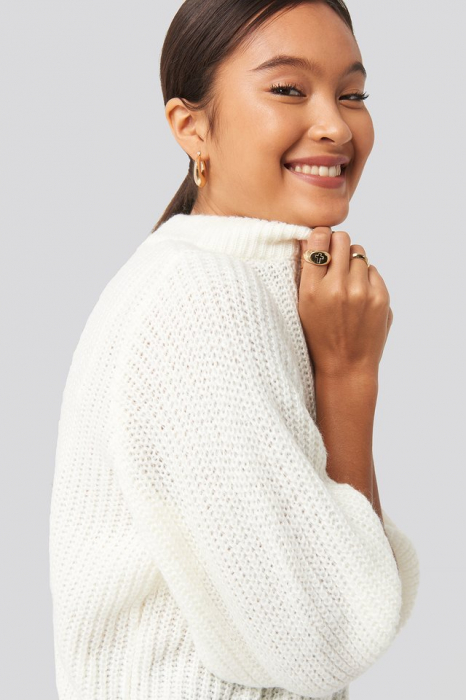 Pulover Felicia Wedin Mid Sleeve Knitted 3