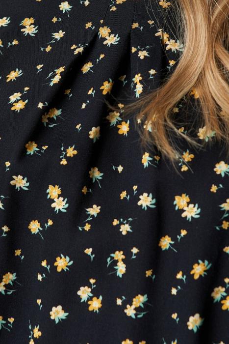 Rochie Flower Print LS Midi 2