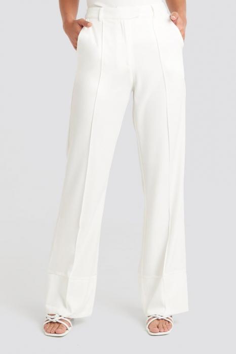 Pantaloni Fold Up Flared [1]