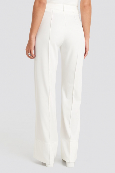 Pantaloni Fold Up Flared [2]