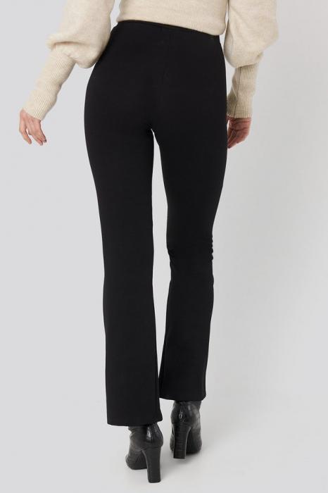 Pantaloni High Waist Flare Jersey [2]