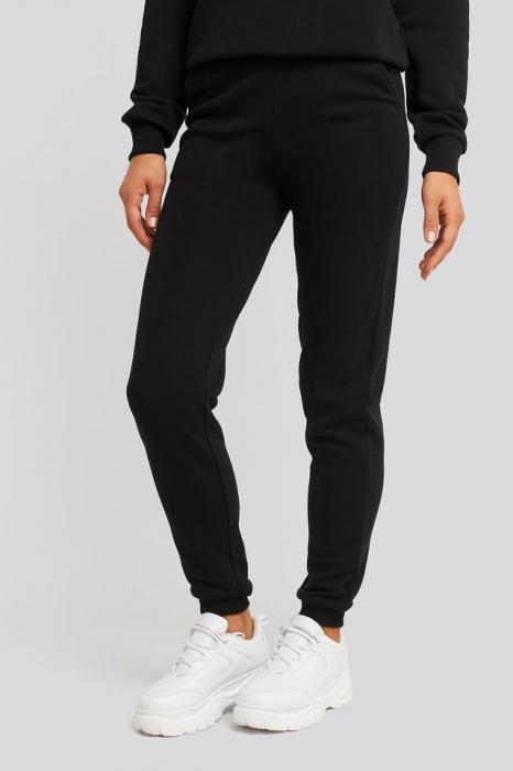 Pantaloni High Waist Slim Leg Jogger 1