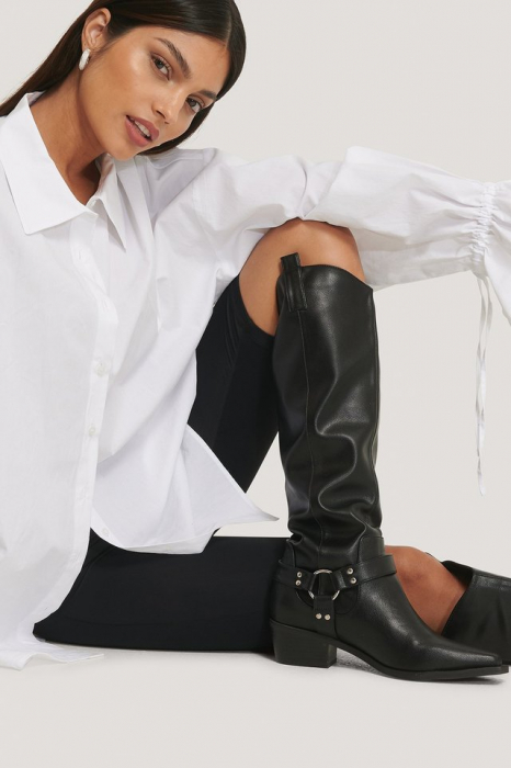 Cizme Knee High Western [6]