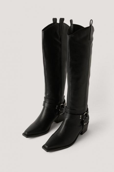 Cizme Knee High Western [1]