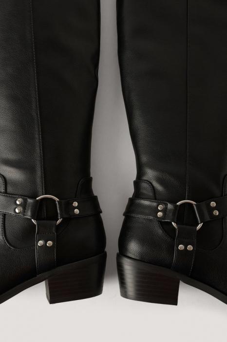 Cizme Knee High Western [3]