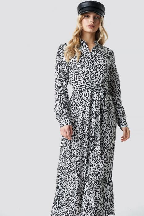 Rochie Leopard Printed 3