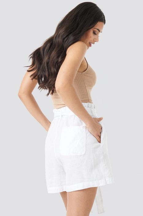 Pantaloni In Linen Paper Bag 1