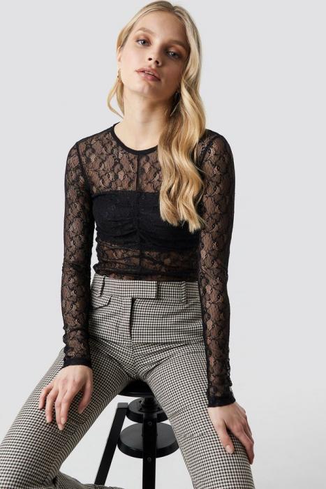 Bluza Long Sleeve Lace 0