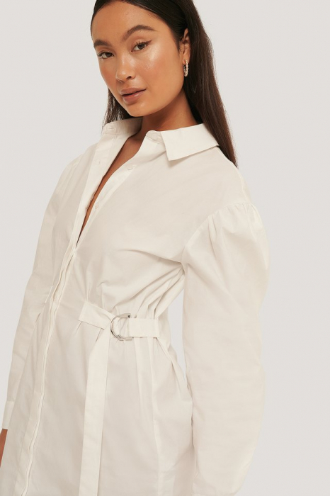 Rochie Marked Waist Oversized Shirt [2]