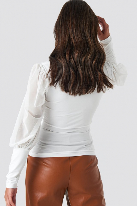 Bluza Mesh Contrast Sleeve Jersey [1]