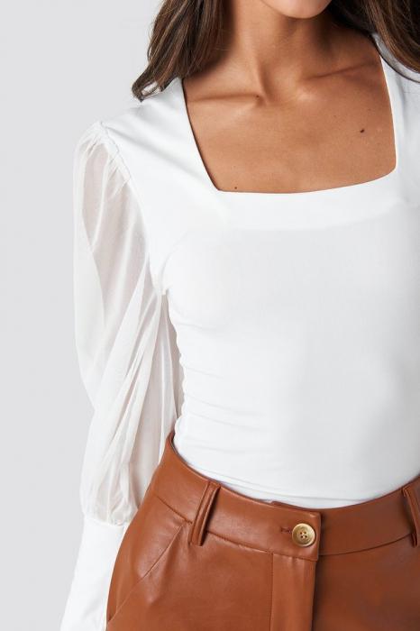 Bluza Mesh Contrast Sleeve Jersey [3]