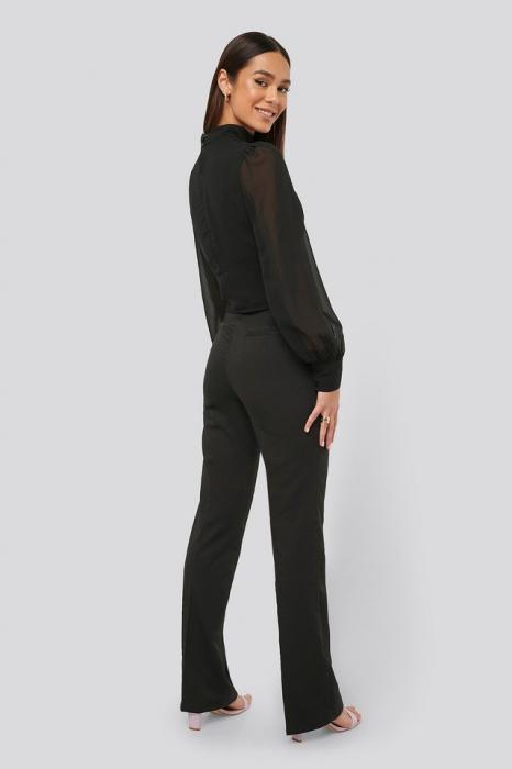 Pantaloni Waist Detail Bootcut [3]
